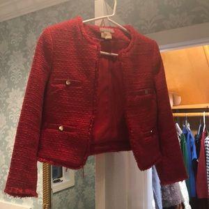 Tweed Red Jacket